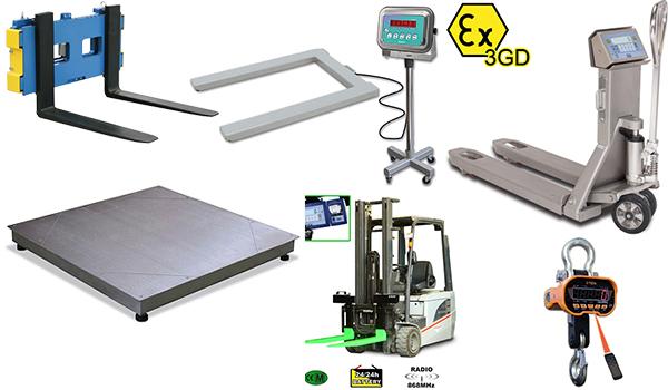 Prodotti e Servizi - pesatura industriale